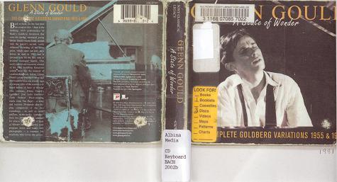 gould goldberg variations