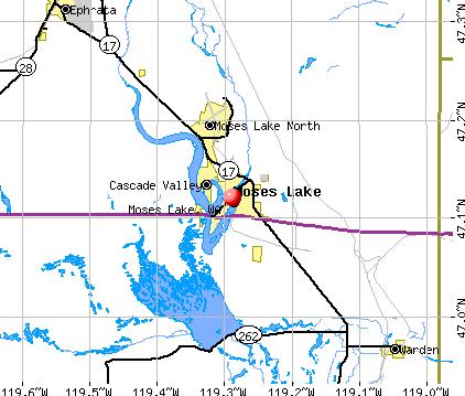 moses lake wa map The Strategic Significance Of Moses Lake Wa Grand Strategy The moses lake wa map