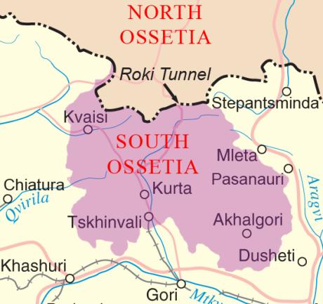 South_Ossetia Roki Tunnel