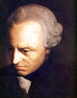 Immanuel Kant, the patron saint of all deontological ethics.