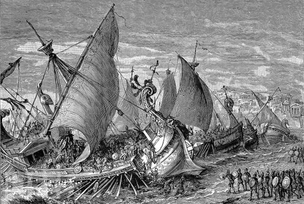 Peloponnesian War Drawings in The Aftermath of War