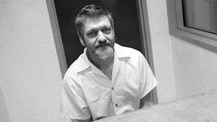 Theodore Kaczynski, AKA the Unabomber, whose manifesto in defense of his violent militancy has had a certain influence