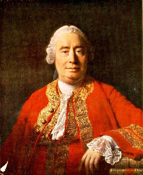 David Hume, philosopher of the Scottish Enlightenment and critic of monkish virtues.