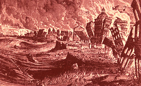 a report on the lisbon earthquake of 1755 and voltaires candide In november 1755 voltaire learned of the great earthquake earlier that month at lisbon, where at first it was thought that as many as 100,000 people had perished his immediate reaction was.