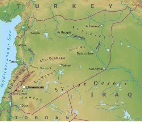 سورية Sūriyya or سوريا Sūryā; Syriac: ܣܘܪܝܐ; Kurdish: Sûrî), officially the Syrian Arab Republic (Arabic: الجمهورية العربية السورية)