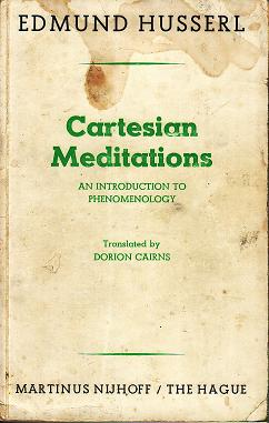 Husserl Cartesian Meditations