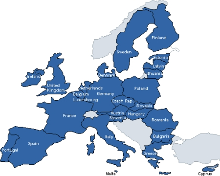 The European Union is a unique economic and political partnership between 27 European countries.  It has delivered half a century of peace, stability, and prosperity, helped raise living standards, launched a single European currency, and is progressively building a single Europe-wide market in which people, goods, services, and capital move among Member States as freely as within one country.