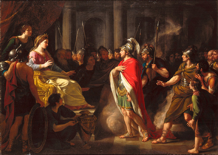 aeneas and dido relationship questions