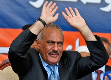 Ali Abdullah Saleh, former President of Yemen, now backing the Houthis as a way to return to power.