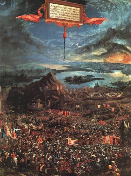 Altdorfer, Albrecht, The Battle of Alexander at Issus