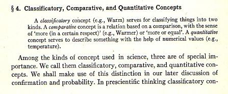 Rudolf Carnap's account of scientific concepts from his Philosophical Foundations of Physics.