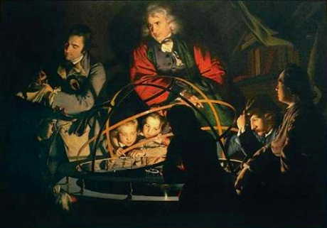 Joseph Wright (September 3, 1734 - August 29, 1797), styled Wright of Derby, was an English landscape and portrait painter — he has been acclaimed as the first professional painter to express the spirit of the industrial revolution.