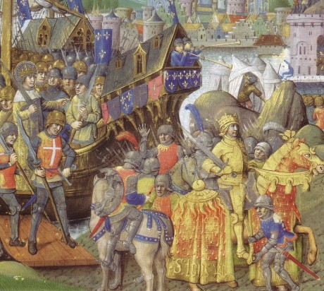 The crusades were an unprecedented exercise in power projection at a time in history when geographical obstacles were not easily overcome by technology.