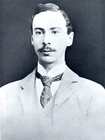 Bertrand Russell as a young man, when he was engaging in polemics with Bergson.