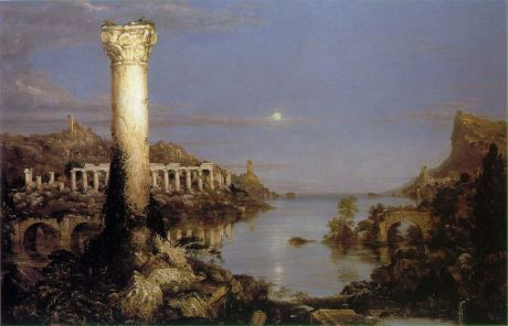 Thomas Cole, The Course of Empire, Desolation, 1836