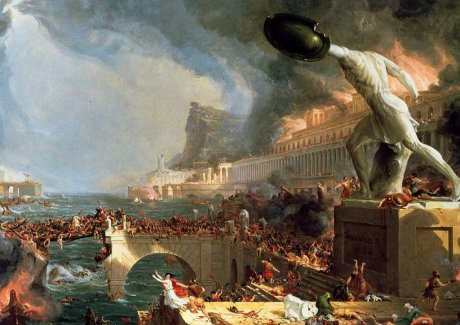 Thomas Cole, The Course of Empire, Destruction, 1836