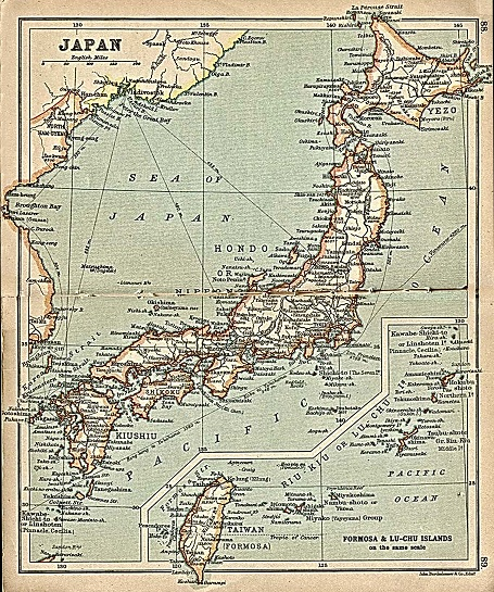 Japan-Map small