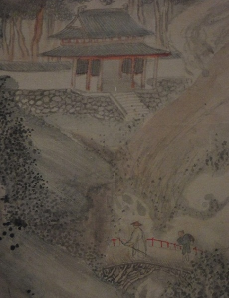 Detail of a painting from the Tokyo National Museum.