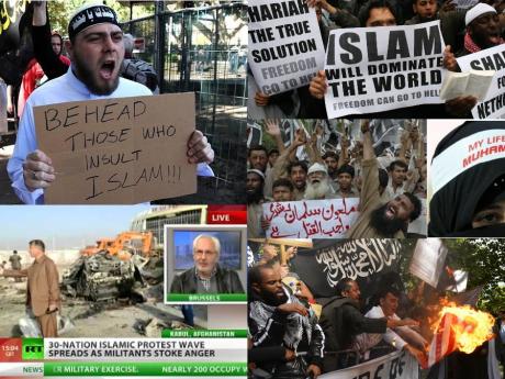muslim rage