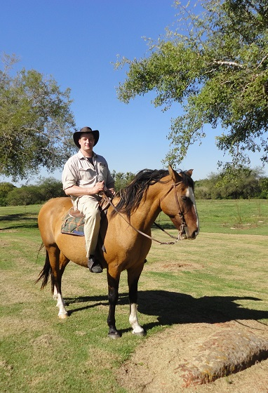 Horseriding at the Estancia Tierra Santa