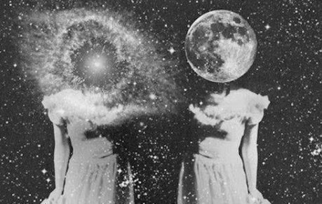 bodies superimposed on stars