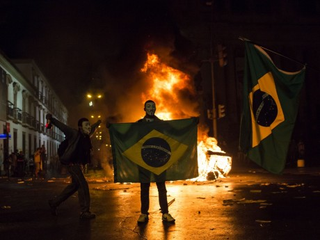 Riots in Brazil...
