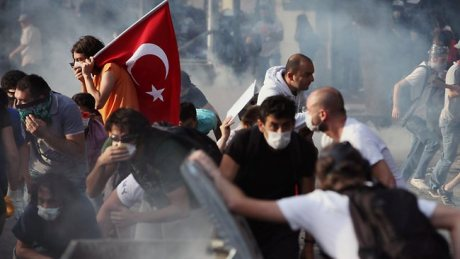 Riots in Turkey...