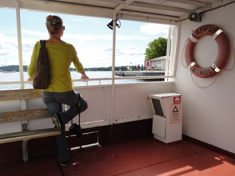 If you're going to get around the Stockholm archipelago, you'd need to take a ferry or two.