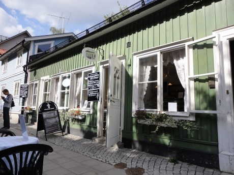 The restaurant in Vaxholm where we had lunch.