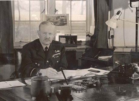 Air Marshal Arthur (Bomber) Harris.