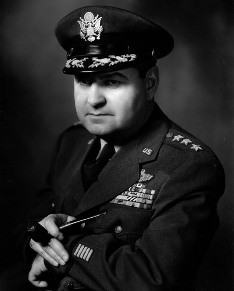 General Curtis LeMay of the Strategic Air Command.