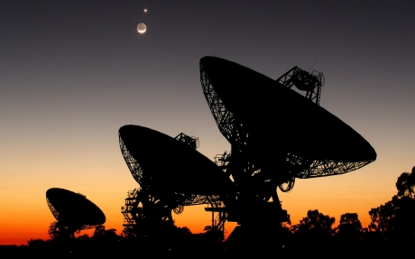 seti-radio-telescope-a-parabolic-antenna