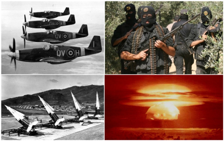 twentury century war collage