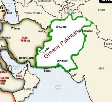 greater pakistan