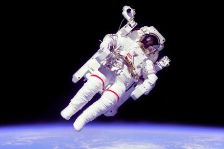 Astronaut-in-Microgravity