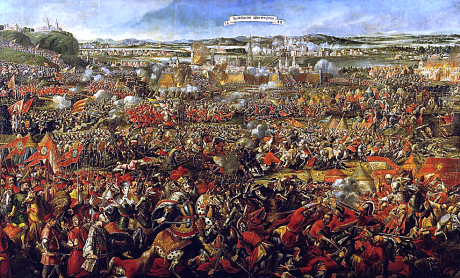 The Battle of Vienna in 1683, when the Turks were turned back from further penetration into Europe.