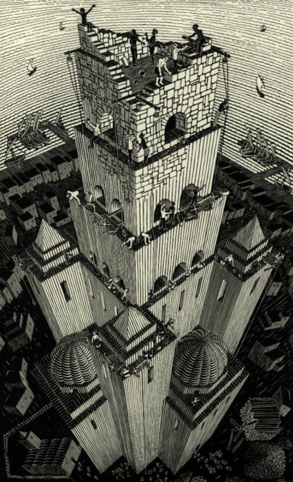 Escher Tower of Babel