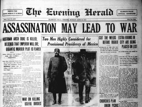 Assassination may lead to war