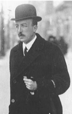 Alexander Graf von Hoyos, Freiherr zu Stichsenstein, Chef de cabinet of the Austro-Hungarian Foreign Minister, and courier of a request for support from Franz Josef to Wilhelm II.