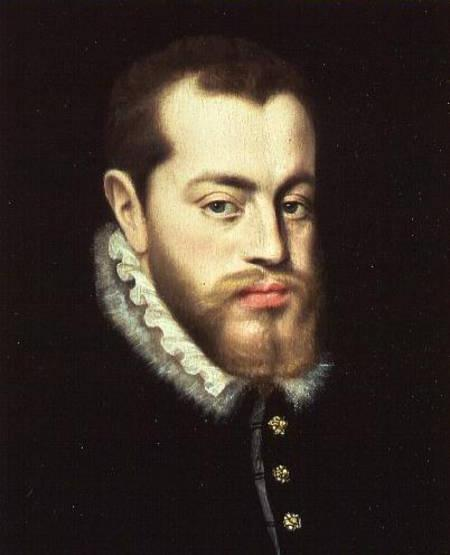 Philip II of Spain (1527-1598)