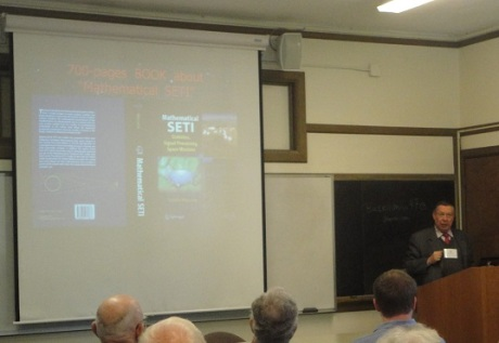Claudio Maccone on big history and SETI.
