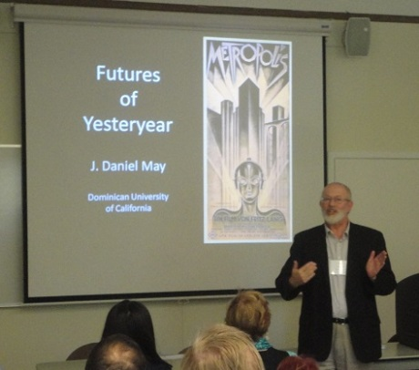 J. Daniel May looking at past futurism through science fiction films.