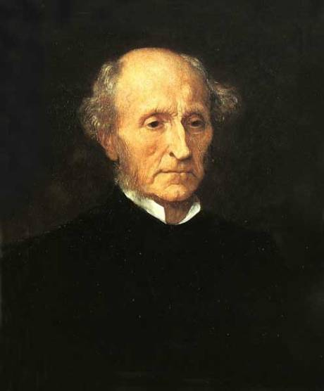 John Stuart Mill, the great utilitarian moral philosopher, and, by extension, teleologist.