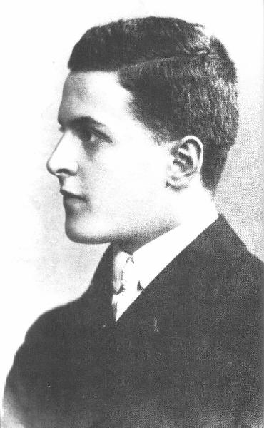 The young Ludwig Wittgenstein in 1905.