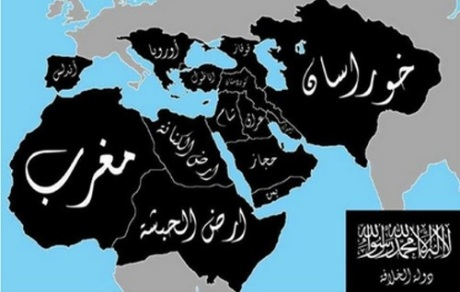 This fantasy map for a future Islamic State resembles of fantasy maps of Akhand Bharat and Gazwa-e-Hind I have previously discussed; it also reveals something of the secular ambitions of Islamic State sympathizers, apart from their eschatological expectations.