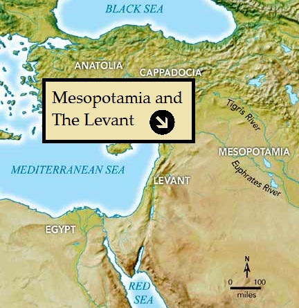Mesopotamia and the Levant
