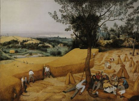 The Harvesters, 1565,  Pieter Bruegel the Elder