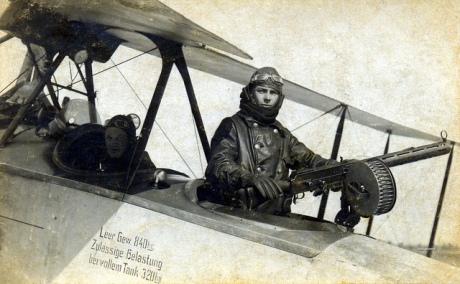 Air gunners, belgium 1918