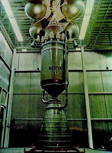 Nuclear rocketry: an industry that never happened.