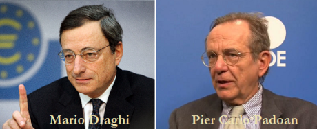 Draghi and Padoan